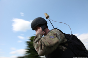 SlingShot enables TacSat BLOS communications using in-service radios