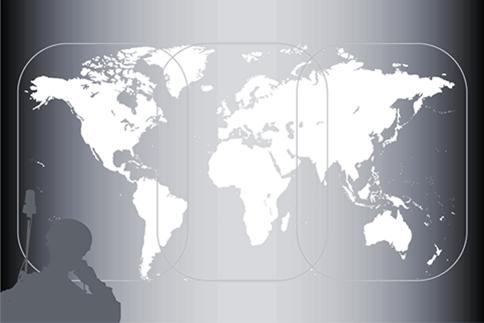 Inmarsat L-TAC Satellite Global Coverage