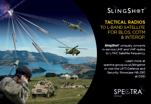 Spectra Group will demonstrate SlingShot at DSEI 2015