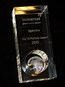 Spectra Group wins top 10 partner award from Inmarsat Global Government