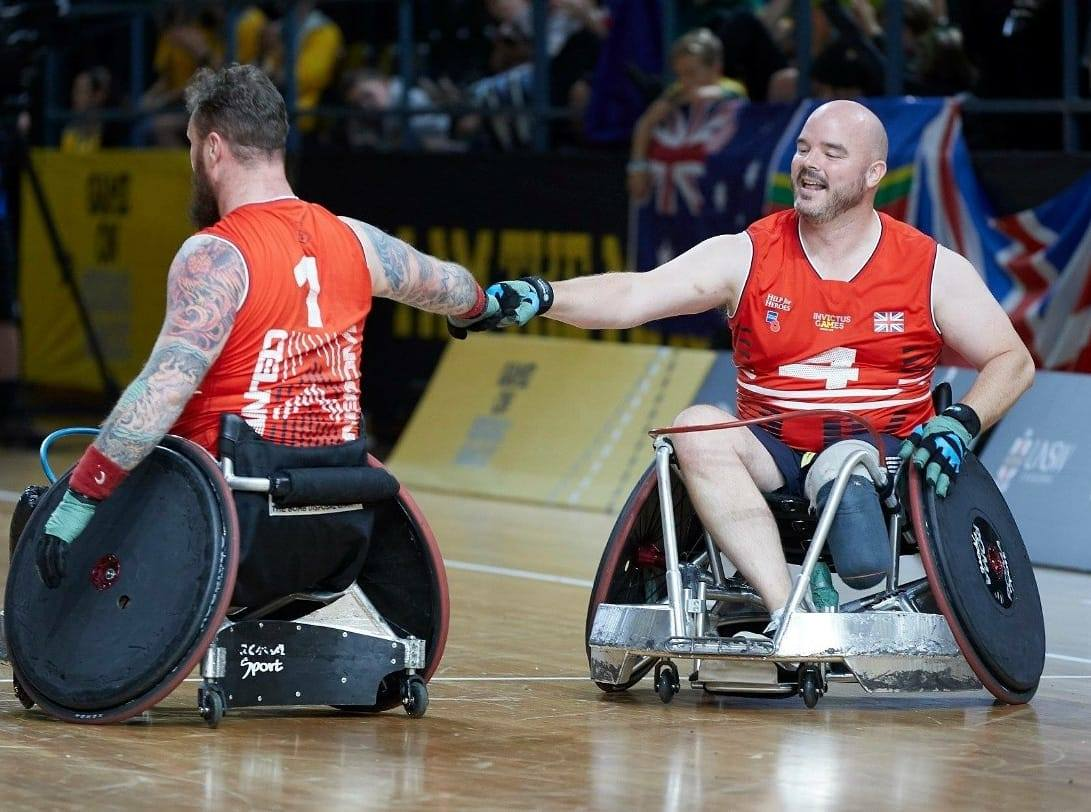 Michael Mellon one of the 2019 Soldiering On Awards finalists in the Spectra Group Sporting Excellence Category