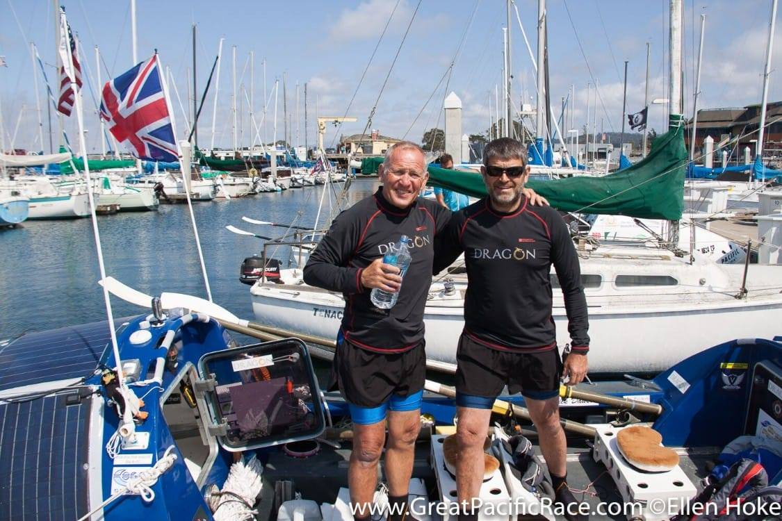 Steve Sparkes and Mick Dawson, two of the 2019 Soldiering On Awards finalists in the Spectra Group Sporting Excellence Category