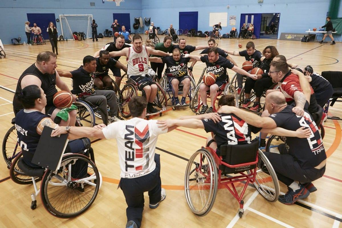 Team UK, finalists in the 2019 Soldiering On Awards finalists in the Spectra Group Sporting Excellence Category